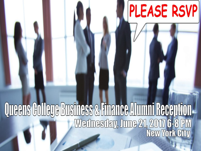 Alumni Event Business and Finance 2017